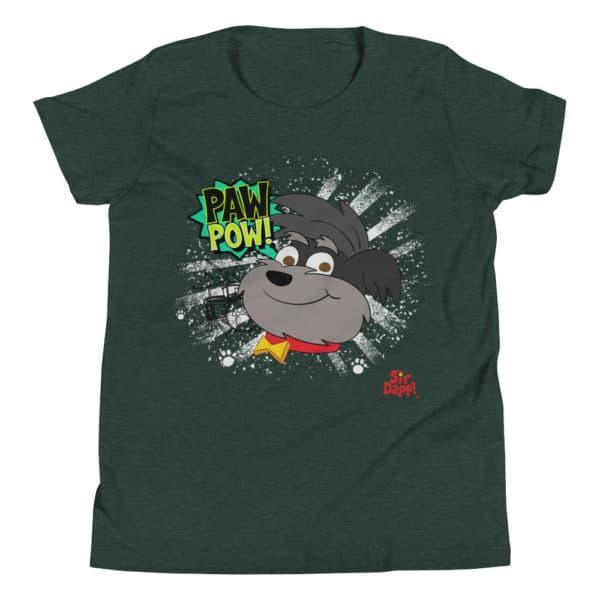 Sir Dapp! Duffie Paw Pow! Green T-Shirt
