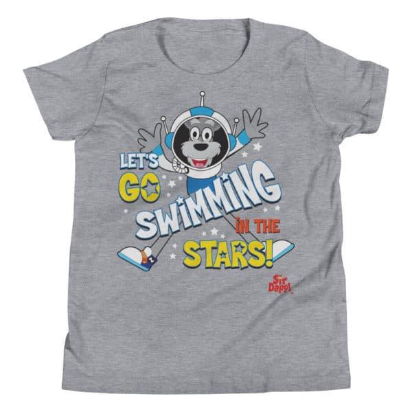 Sir Dapp! Swimming in the Stars Grey T-Shirt